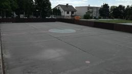 Rekonštrukcia hokejbaloveho ihriska