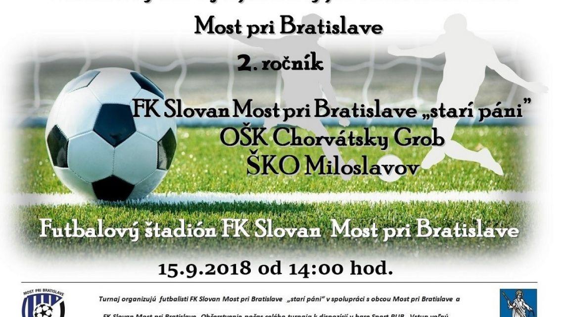 Pozvánka - Futbalový turnaj o putovný pohár starostu obce