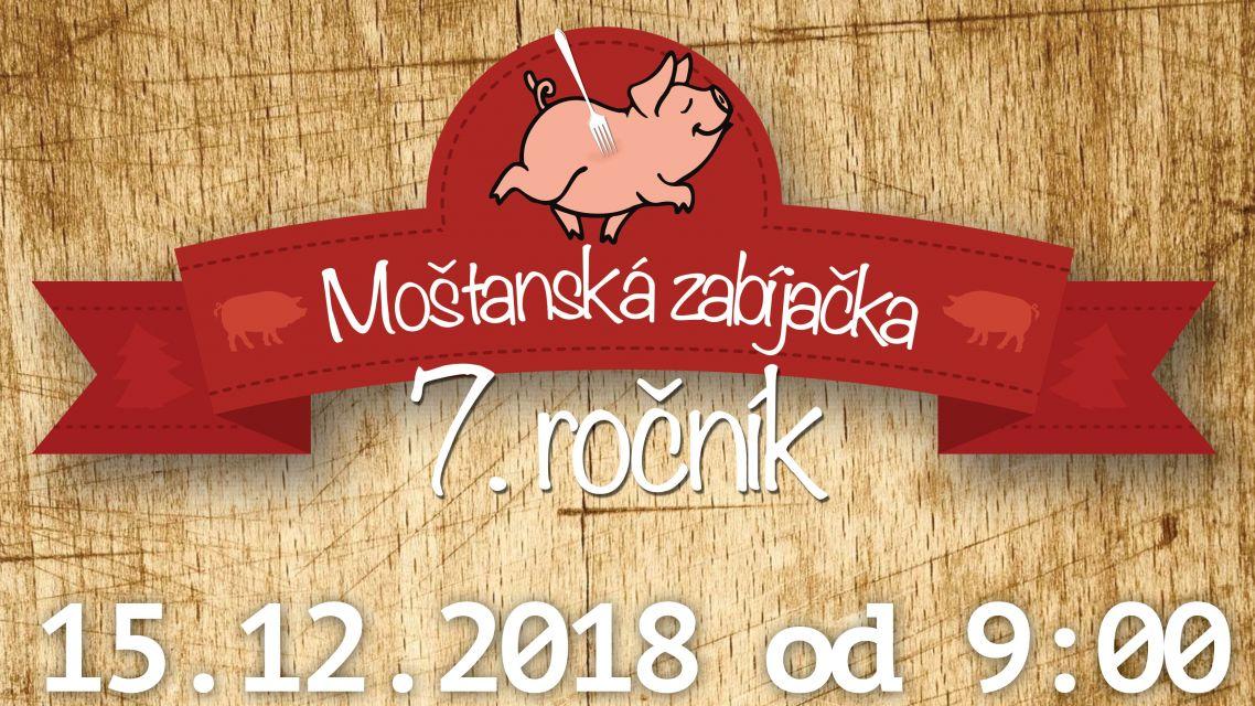 Pozvánka: 7. ročník Mošťanská zabíjačka