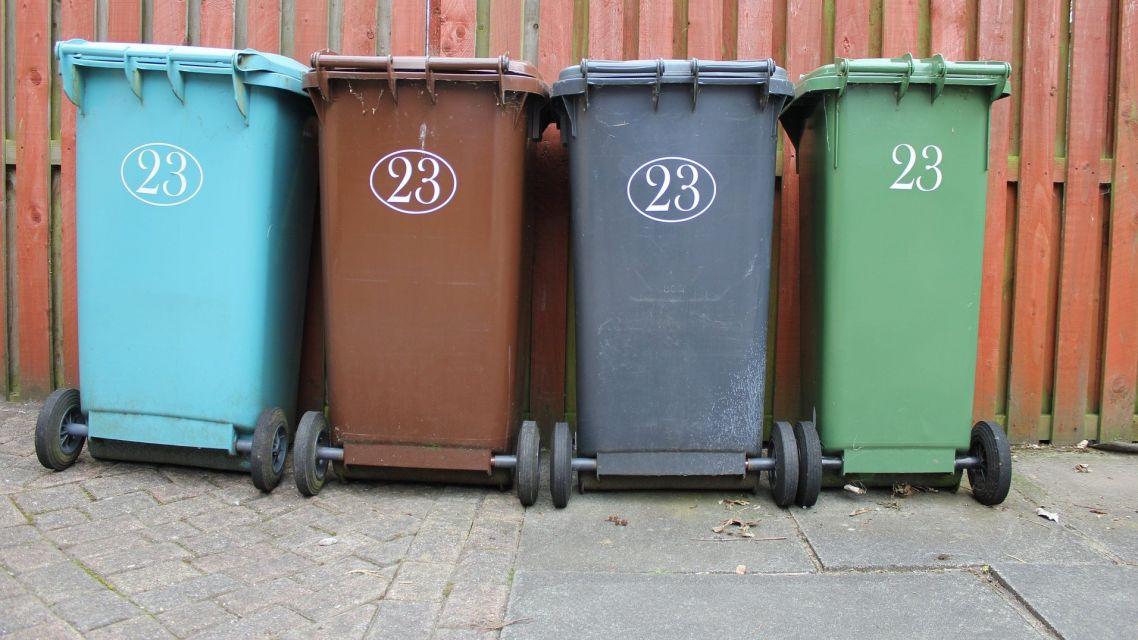 Nálepky na komunálny odpad