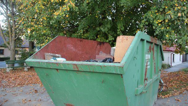 Zber veľkoobjemového odpadu
